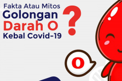 FAKTA ATAU MITOS ? ORANG DENGAN GOLONGAN DARAH O LEBIH KEBAL VIRUS COVID-19
